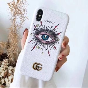 Fickle Monster Gucci iPhone X Case NEW